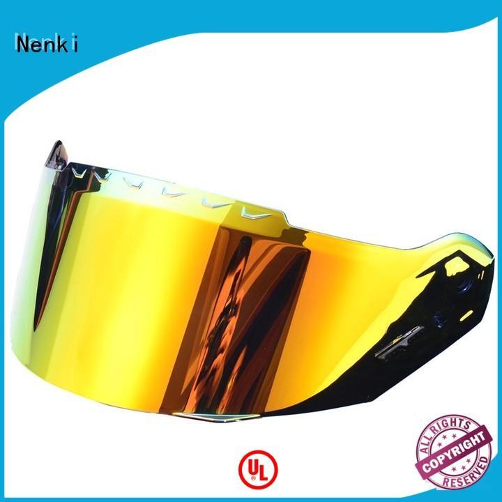 affordable Hot selling helmets visors Protective Riding Nenki company