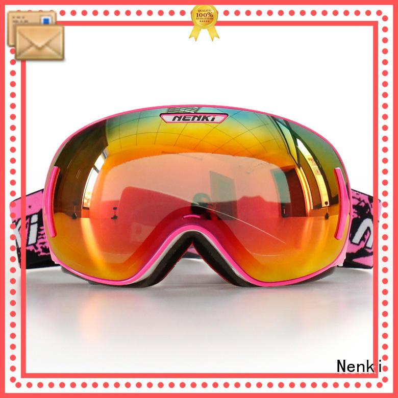 top rated ski goggles affordable Fashion safe Nenki Brand ski goggles online