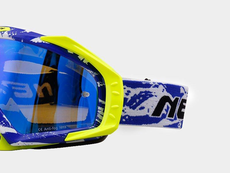 Hot selling approved cheap motocross goggles Nenki Brand