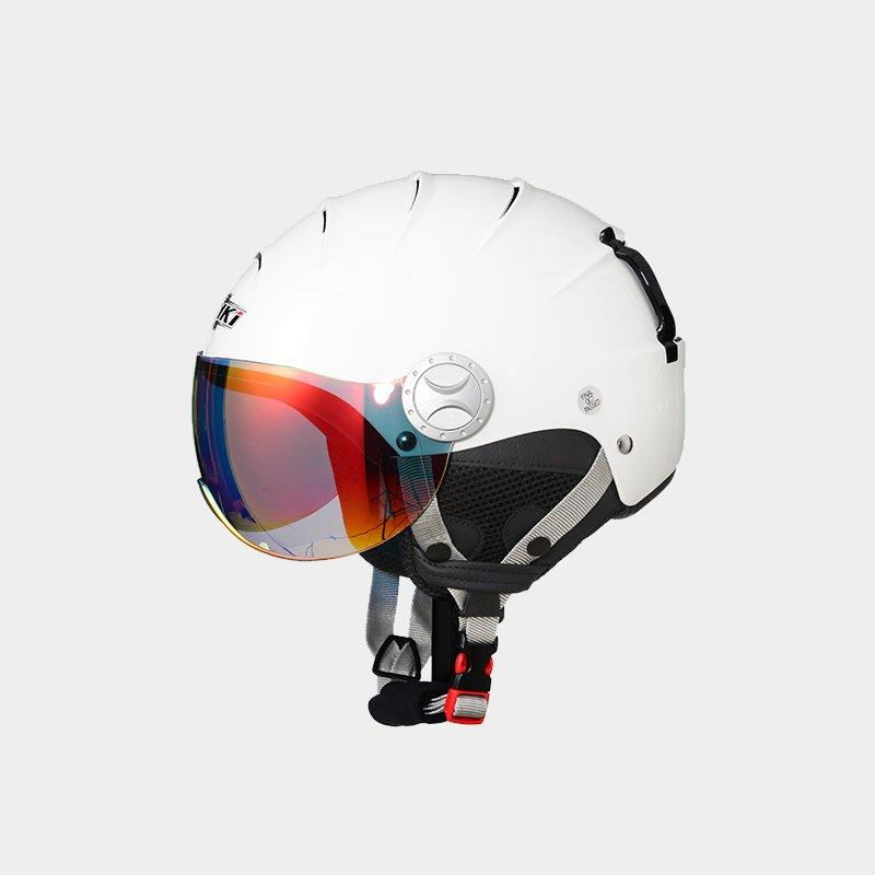 Nenki ladies ski helmet with visor suppliers for motorcycle