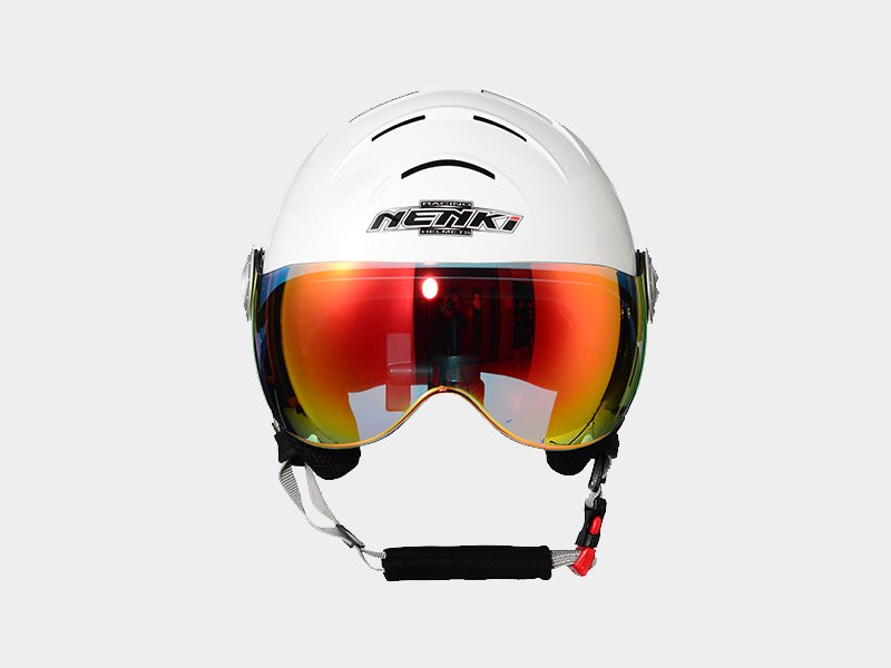 Nenki ladies ski helmet with visor suppliers for motorcycle-4
