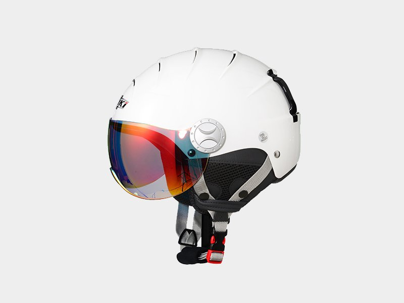 Nenki ladies ski helmet with visor suppliers for motorcycle-6