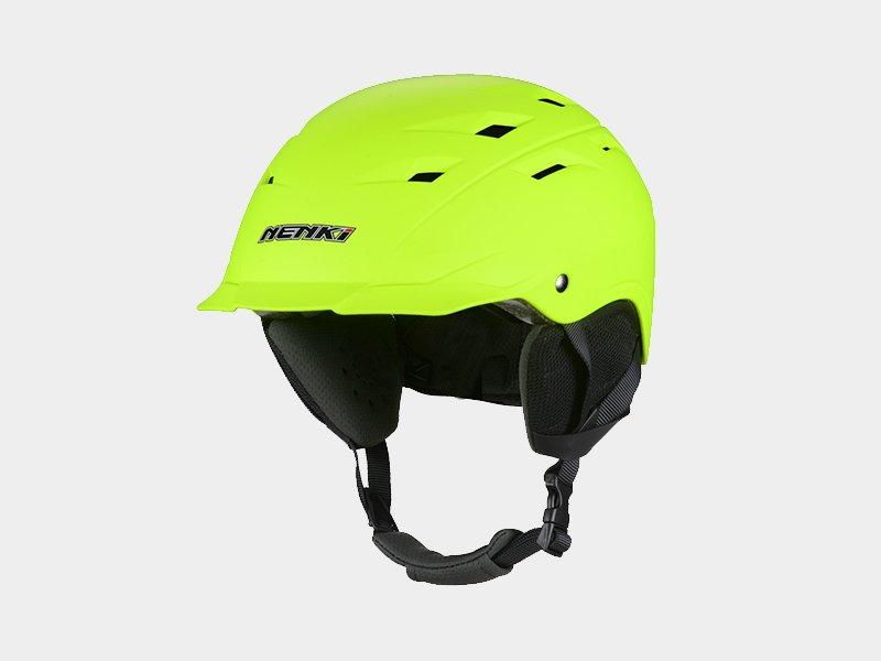 Nenki ladies ski helmet with visor company for outside