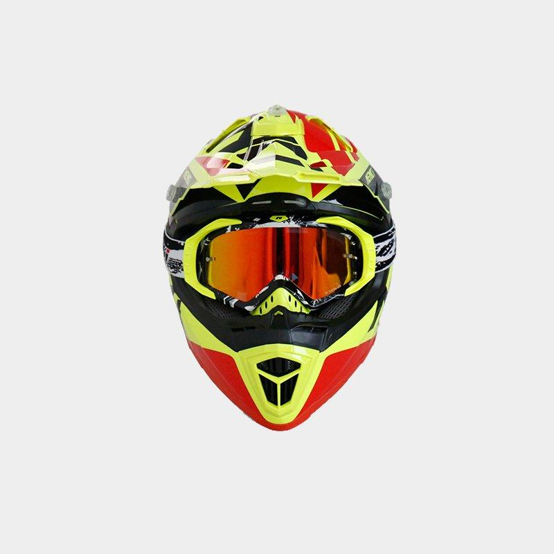 safe colorful Nenki Brand motocross helmets for sale