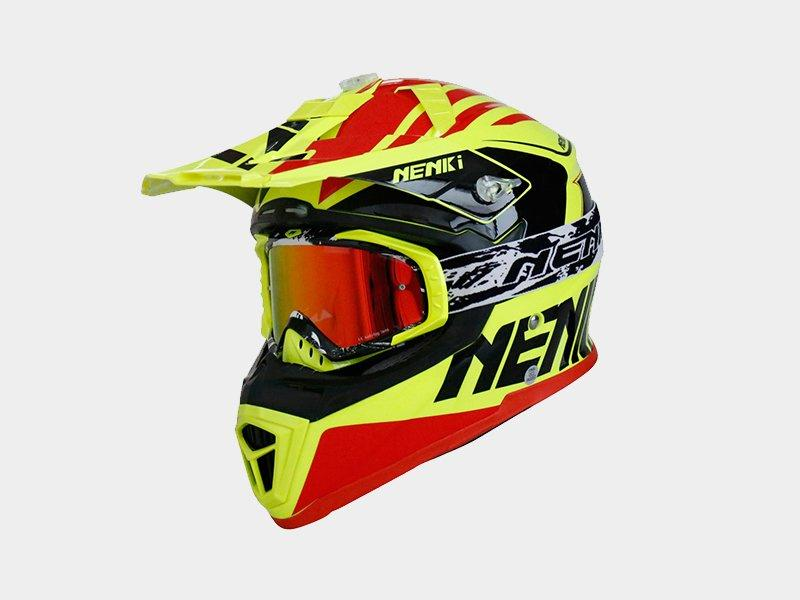 wholesale Fashion motocross helmets for sale certified Nenki