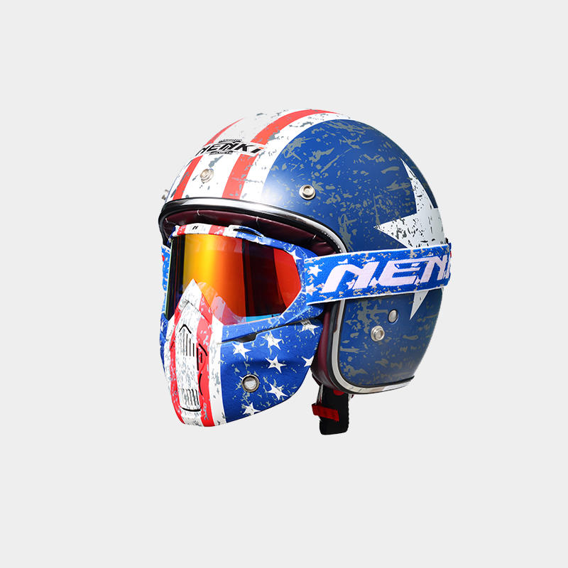 Wholesale Protective best open face motorcycle helmet Lightweight Nenki Brand