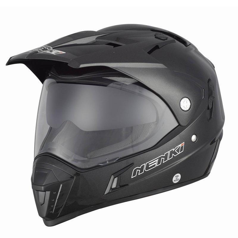 Motorcycle Helmet Dual Sport Helmet Dual VisorsECE Approved NK-311Nenki Helmet