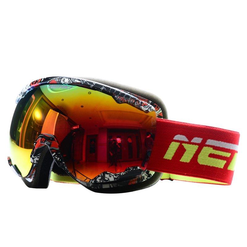 Nenki Ski Goggles Snow Goggles 100% 400 UV Protection Anti Fog Outdoor Sports Snowboard Glasses NK1007 Nenki Ski Goggles image1