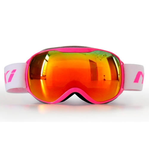 Kids Youth Ski Goggles Snow Goggles 100% 400 UV Protection Anti Fog Outdoor Sports Snowboard Glasses Revo NK1002 Nenki
