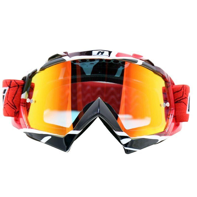 Motocross Goggles Dirt Bike Motorcycle ATV Off Road Racing MX Riding Glasses Anti UV Adjustable Strap NK-1019 Nenki