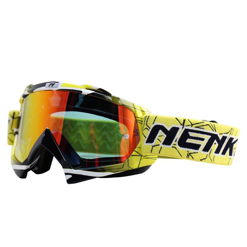 Nenki Motocross Goggles Dirt Bike Motorcycle ATV Off Road Racing MX Riding Glasses Anti UV Adjustable Strap NK-1019 Nenki Motocross Goggles image6