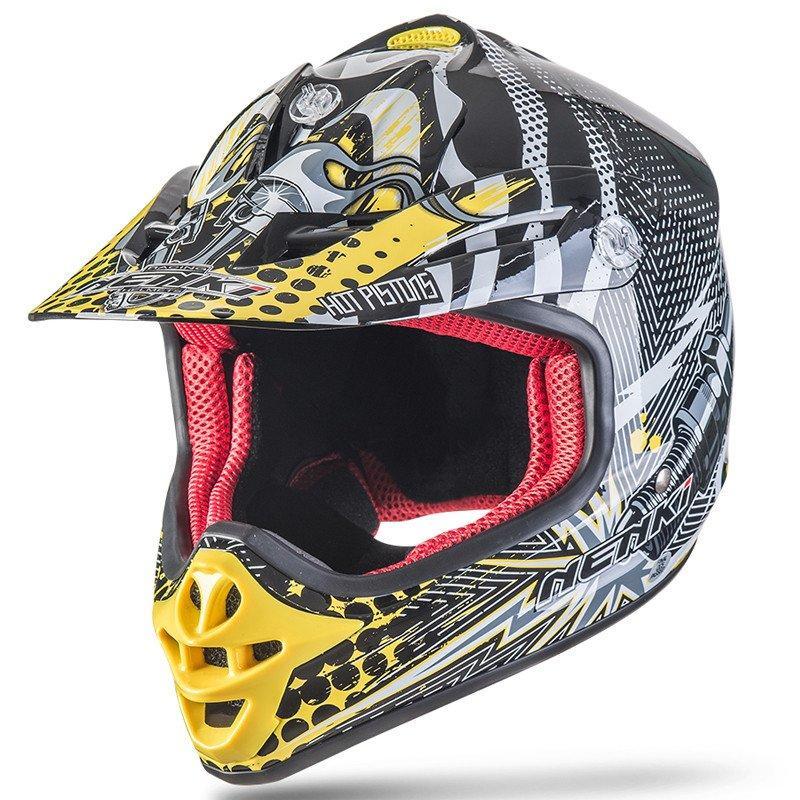 Motorcycle Kids Youth Motocross Helmet ECE Approved ATV Dirt Bike Motorbike Off Road Free MX Goggles NK303 Nenki Helmet