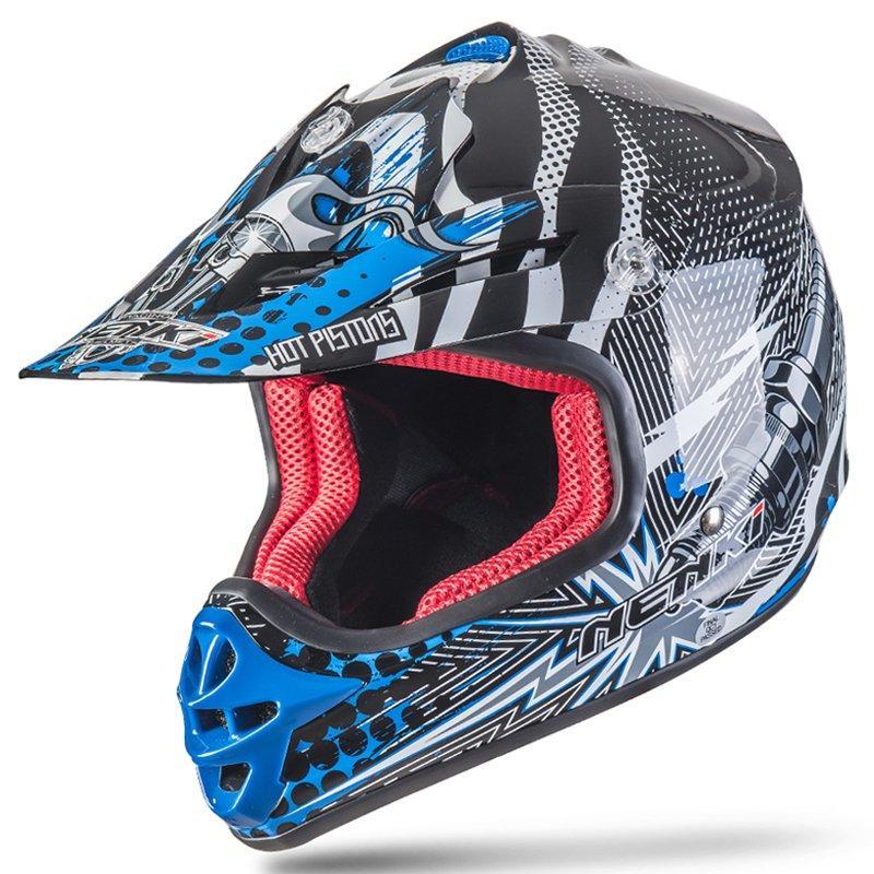 Motorcycle Kids Youth Motocross Helmet DOT Approved ATV Dirt Bike Motorbike Off Road Free MX Goggles NK303 Nenki Helmet