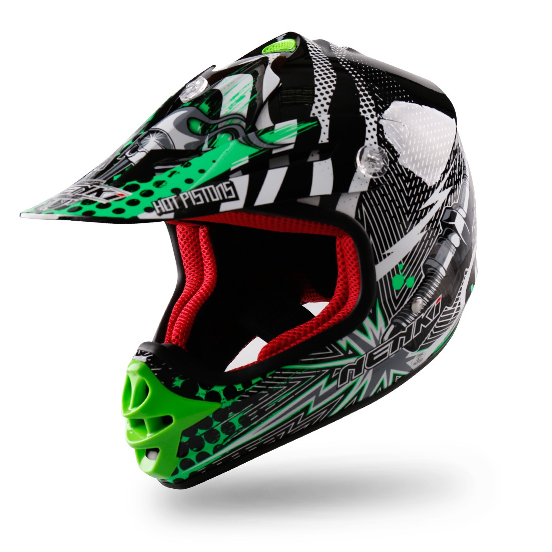 Nenki cool motocross helmets suppliers for motorcycle-4