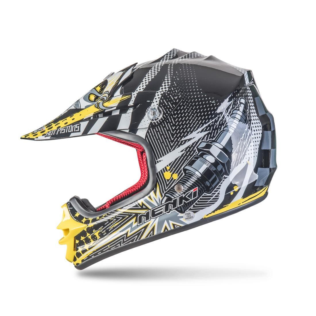 colorful Comfortable motocross helmets for sale Adult wholesale Nenki company