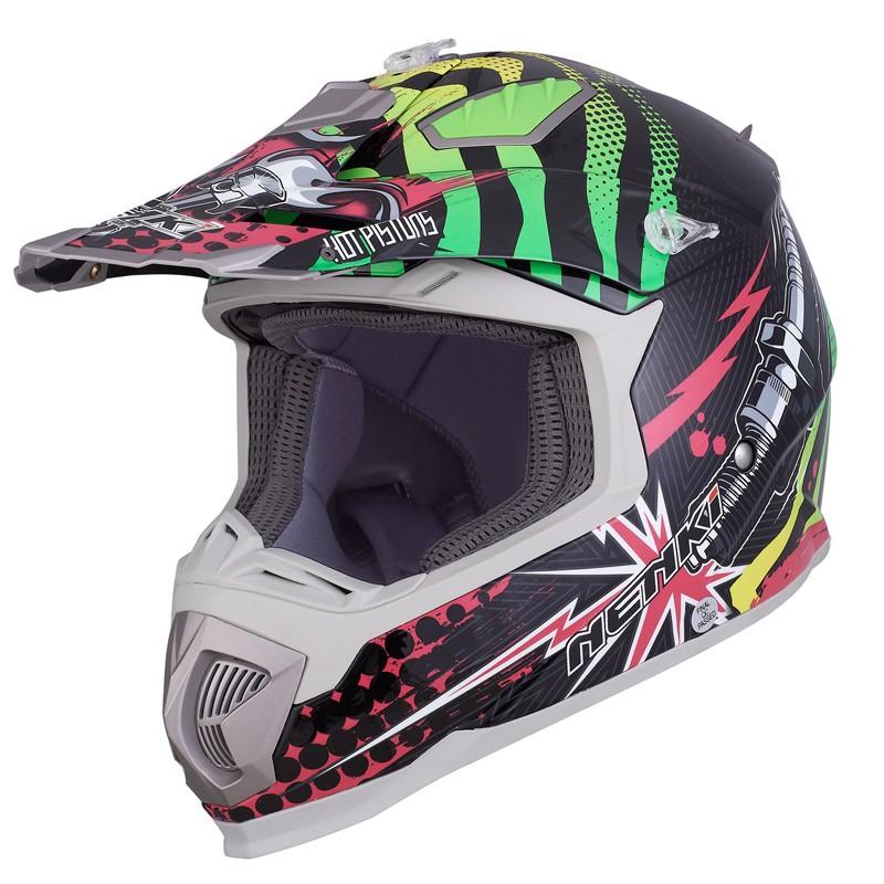 best blue and white motocross helmets for outside-4