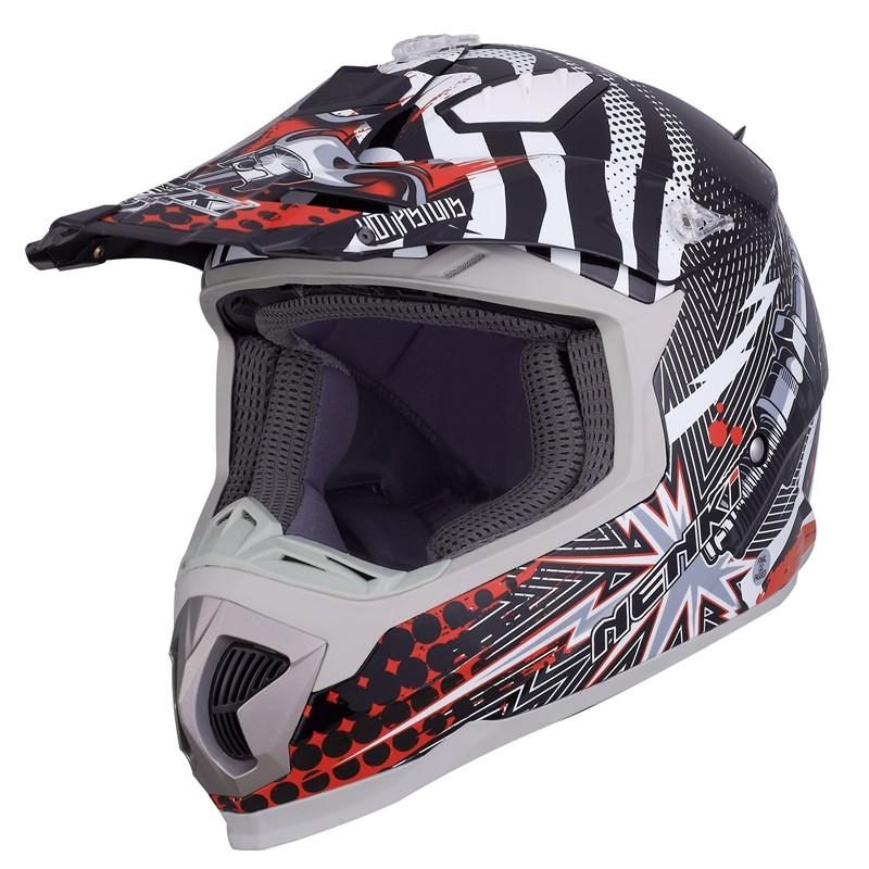best blue and white motocross helmets for outside-5
