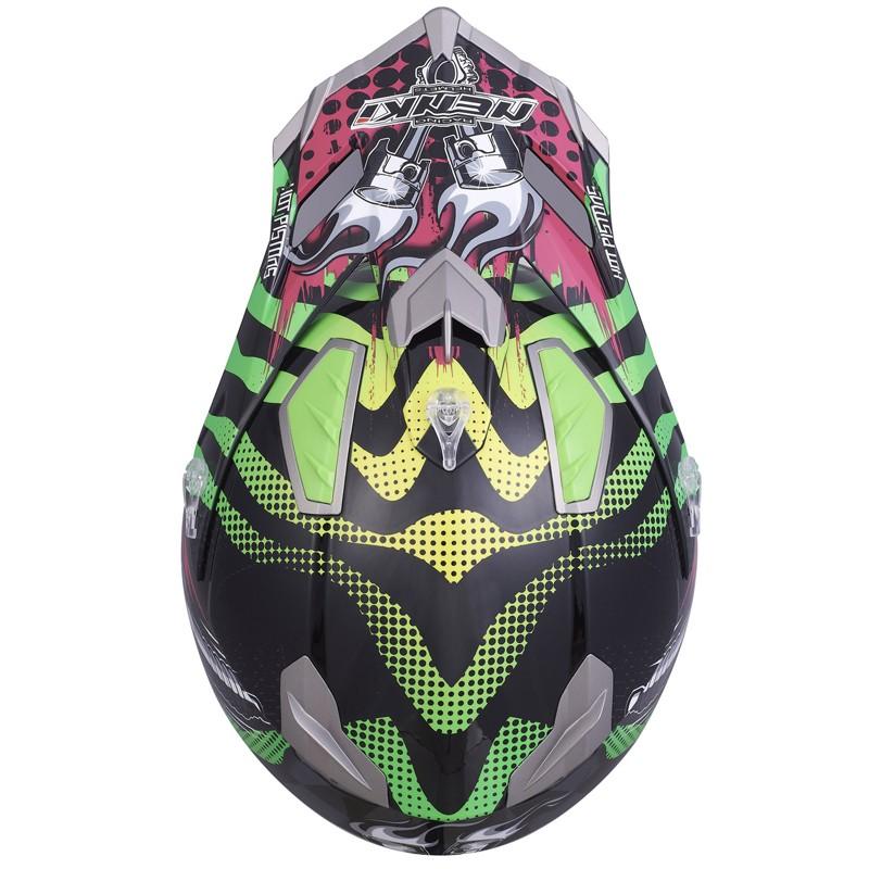 best blue and white motocross helmets for outside-7