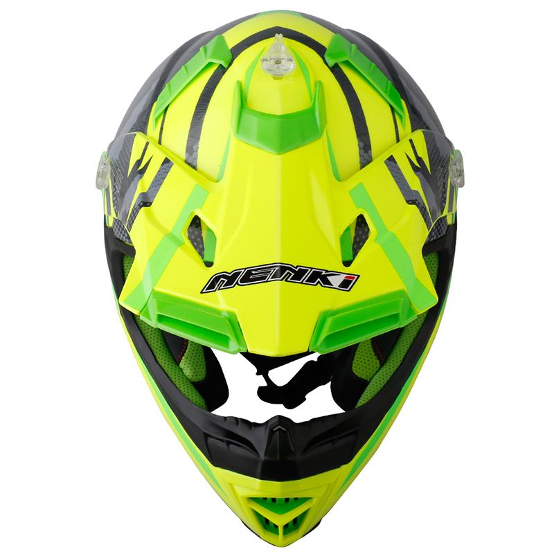Nenki Motorcycle Motocross ECE Approved ATV Dirt Bike Motorbike Off Road Free MX Goggles  NK316 Nenki Helmet Motocross Helmets image4