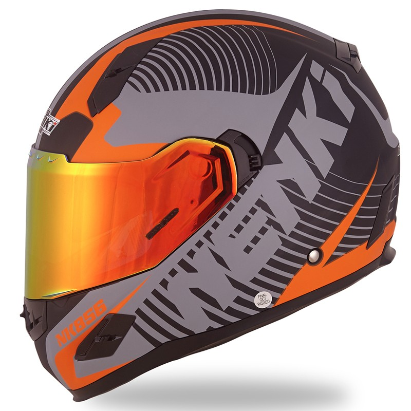 Nenki full face helmet with goggles suppliers for outside-5