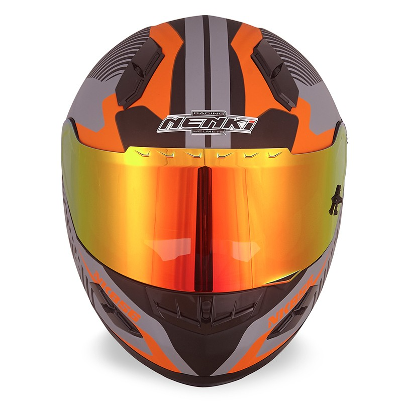 Nenki full face helmet with goggles suppliers for outside-7