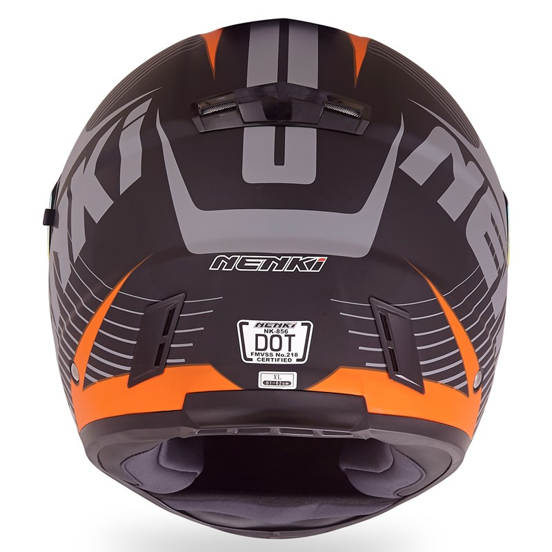 Nenki full face helmet with goggles suppliers for outside-8