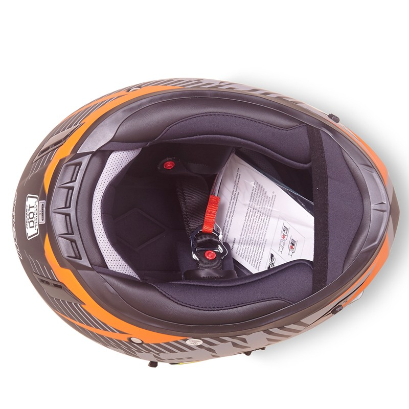 Nenki full face helmet with goggles suppliers for outside-9