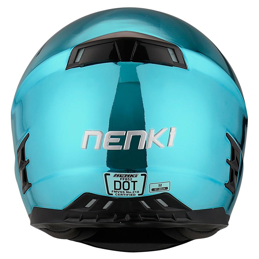 Wholesale certified discount full face motorcycle helmets cheap Nenki Brand