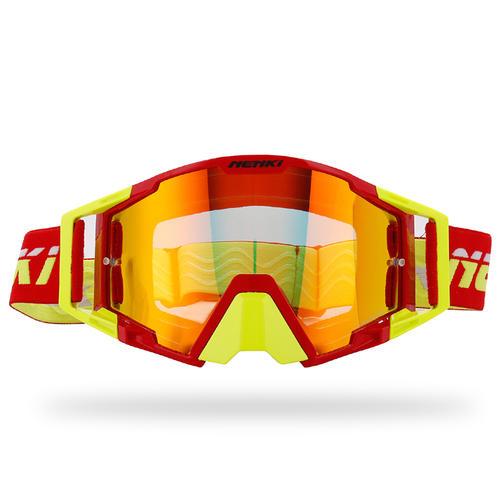 Motocross Goggles Dirt Bike Motorcycle ATV Off Road Racing MX Riding Glasses Anti UV Adjustable Strap NK1025 Nenki