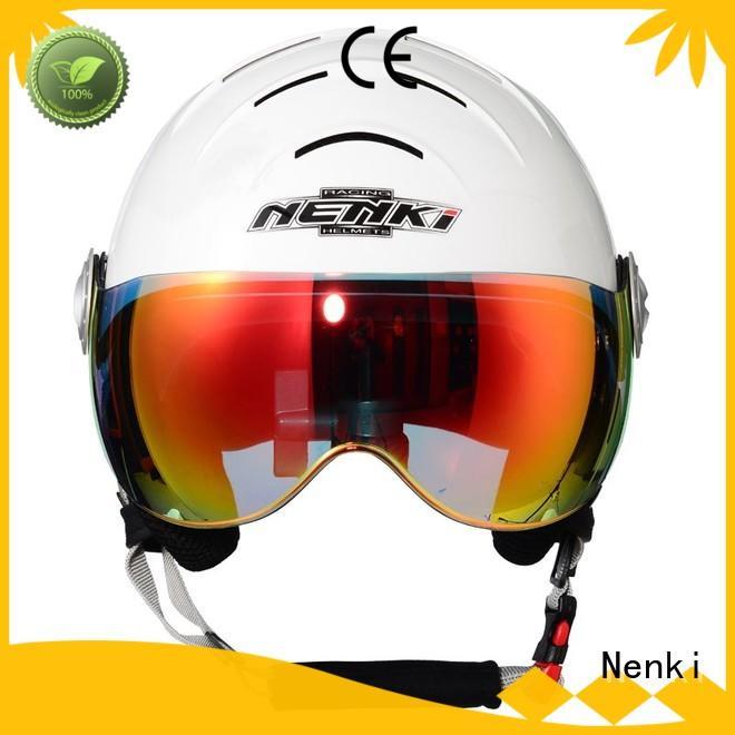 Fashion best womens ski helmets Adjustable cheap Nenki Brand