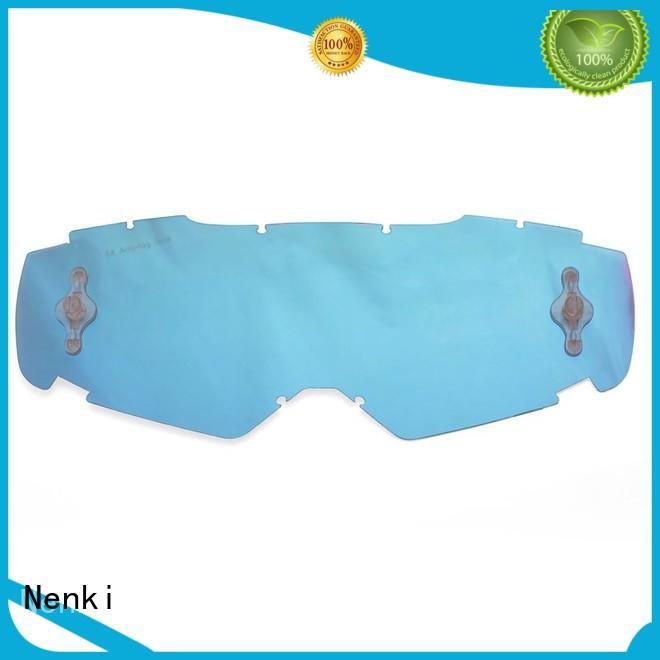 Nenki custom fox racing goggle lenses manufacturers for outside