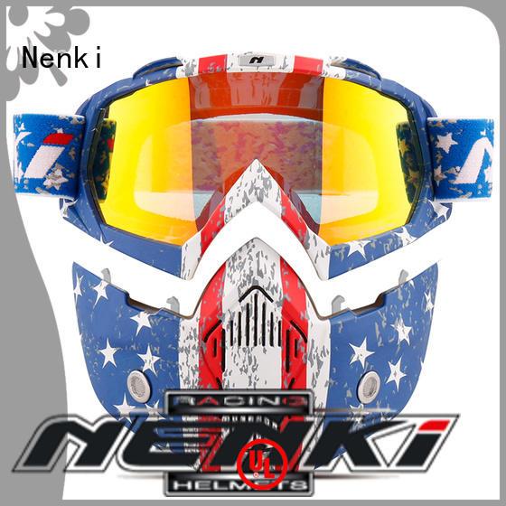 Nenki top women's open face motorcycle helmet suppliers for motorbike