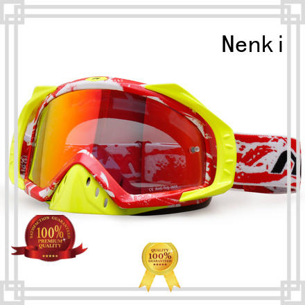 dustproof Adjustable cheap motocross goggles cheap Nenki Brand