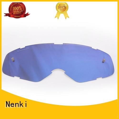 anti-shock Hot selling Nenki Brand Motocross Goggles Lens