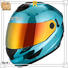 Multi Color Protective affordable OEM full face motorcycle helmets for sale Nenki