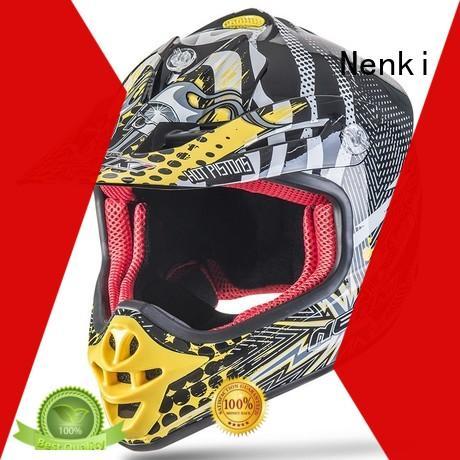 Top rated Unique Off-Road discount helmets Nenki manufacture