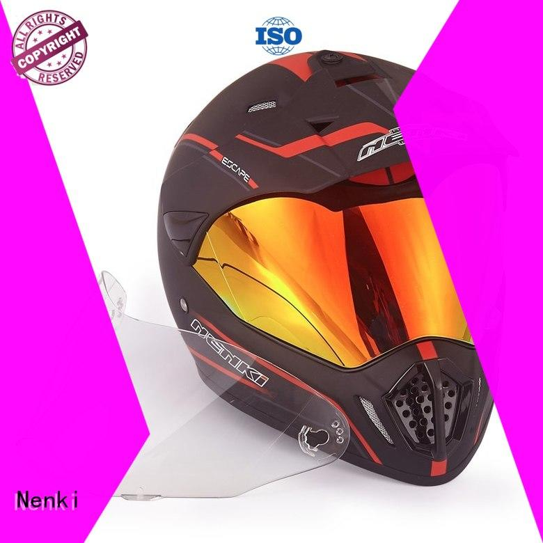 Wholesale Hot selling best adventure motorcycle helmet Nenki Brand