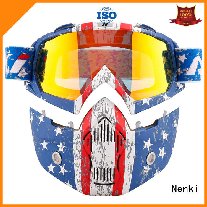 Nenki high-quality lightest open face helmet company for motorbike
