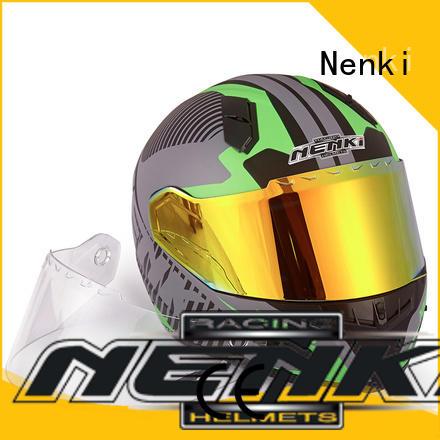 Nenki scooter helmets for sale factory for motorbike