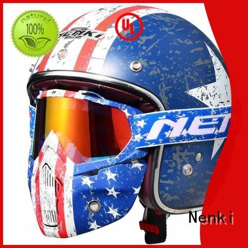 Nenki buy open face helmet supply for outside