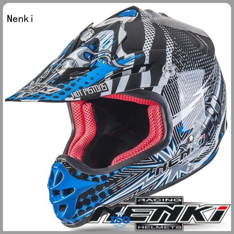 Nenki best off road motocross helmets company for motorcycle