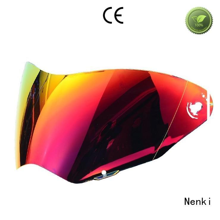 adjustable Hot selling Fashion helmets visors Nenki Brand company