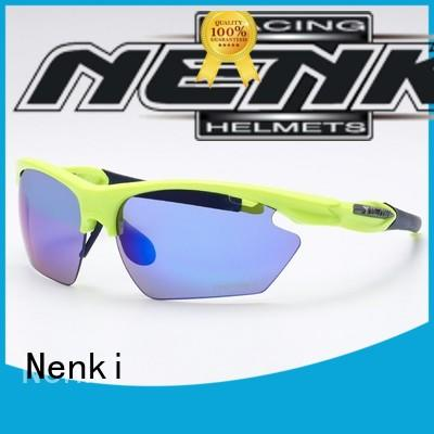 Best Quality Anti-UV stylish road cycling sunglasses fashion Nenki Brand