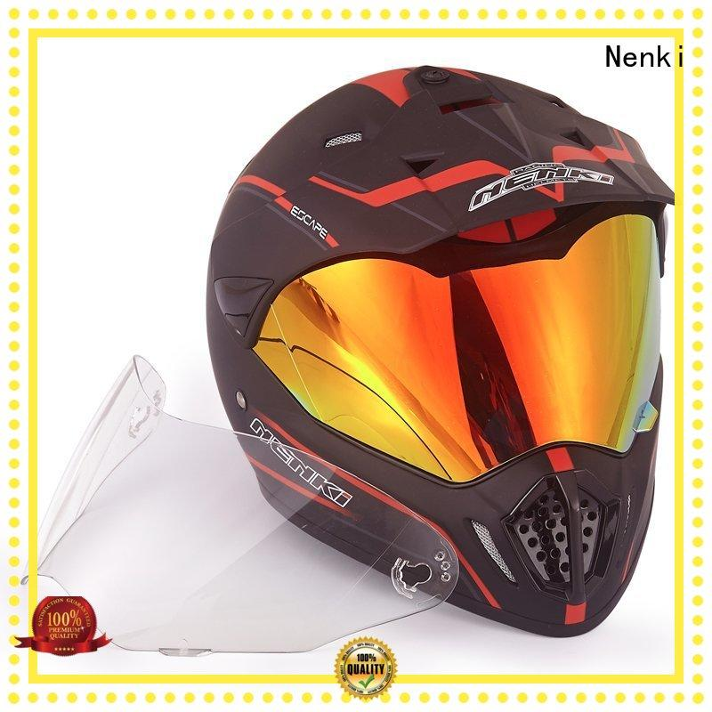 new Fashion affordable Nenki Brand best adventure motorcycle helmet factory