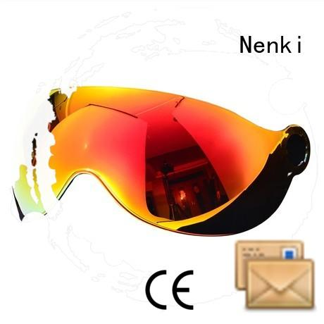 Adjustable cheap Nenki Brand speed helmet visor