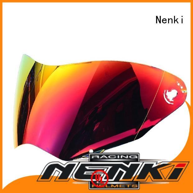 Fashion safe new helmets visors cheap Nenki Brand