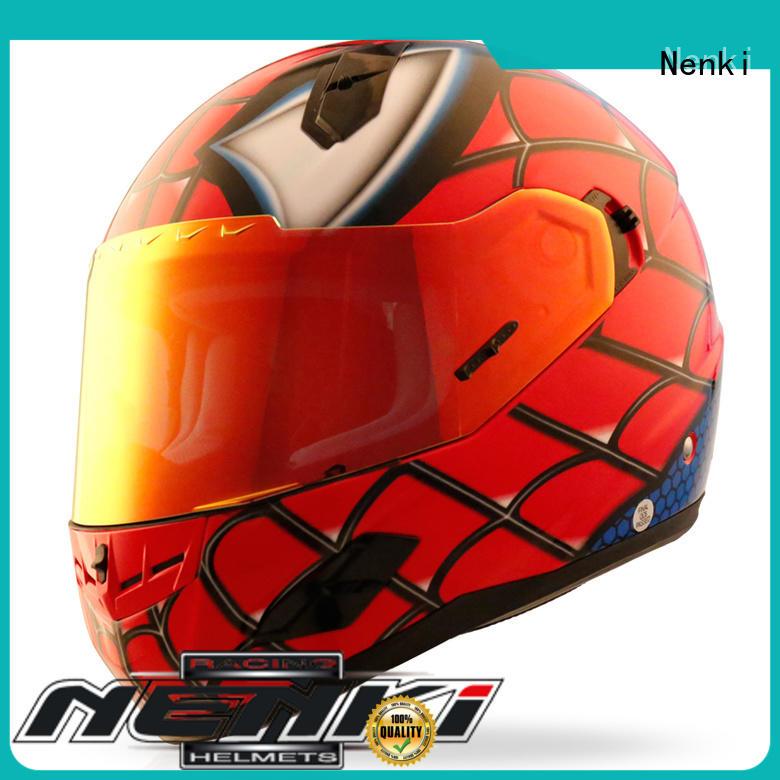 orange motorcycle helmet factory for motorcycle