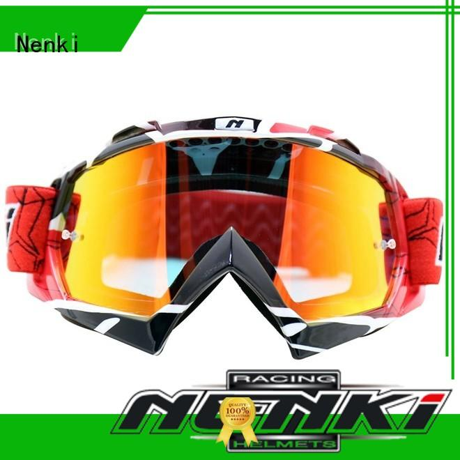 Nenki top motocross helmets with goggles factory for motorbike