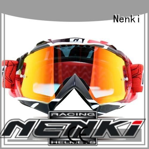 custom cheap motocross goggles factory for motorbike