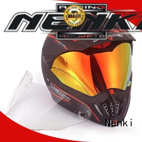 Nenki best dual sport motorcycle helmet manufacturers for outside